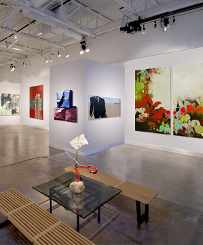 Craighead Green Gallery interior