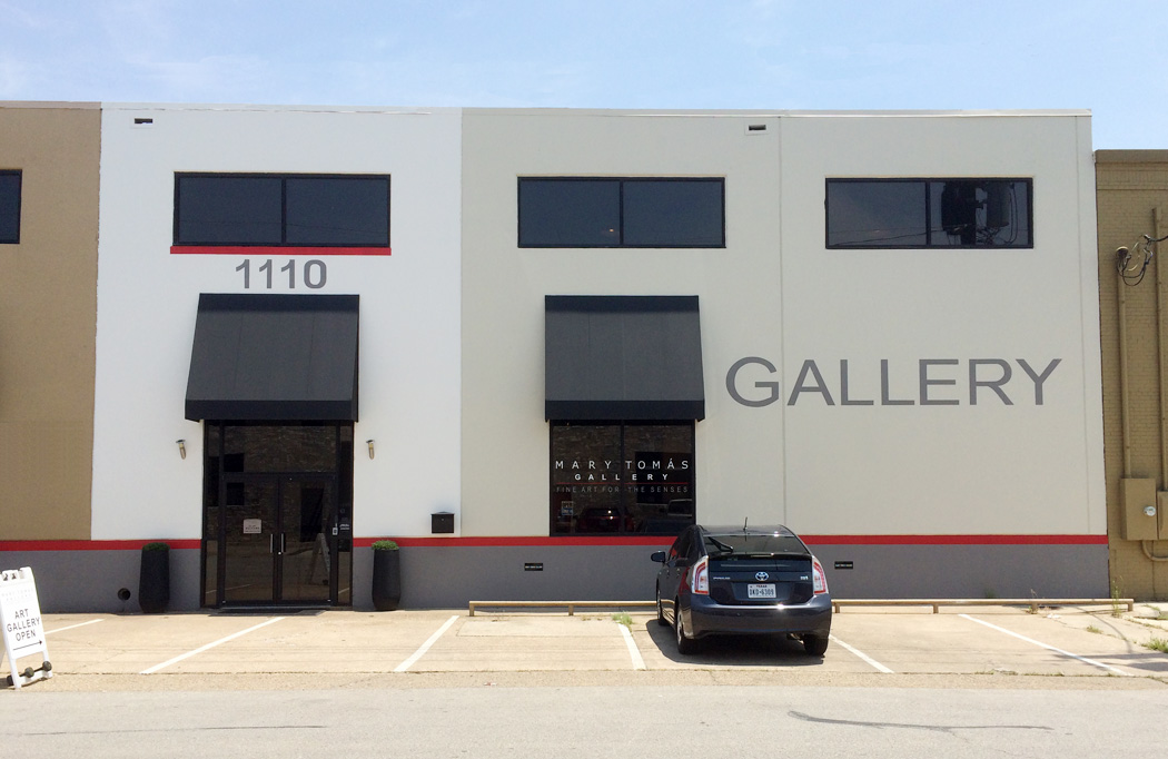 Mary Tomás Gallery, 1110 Dragon Street, Dallas, Texas 75207