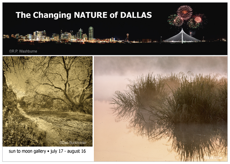 The Changing Nature of Dallas photography exhibition at Sun to Moon Gallery