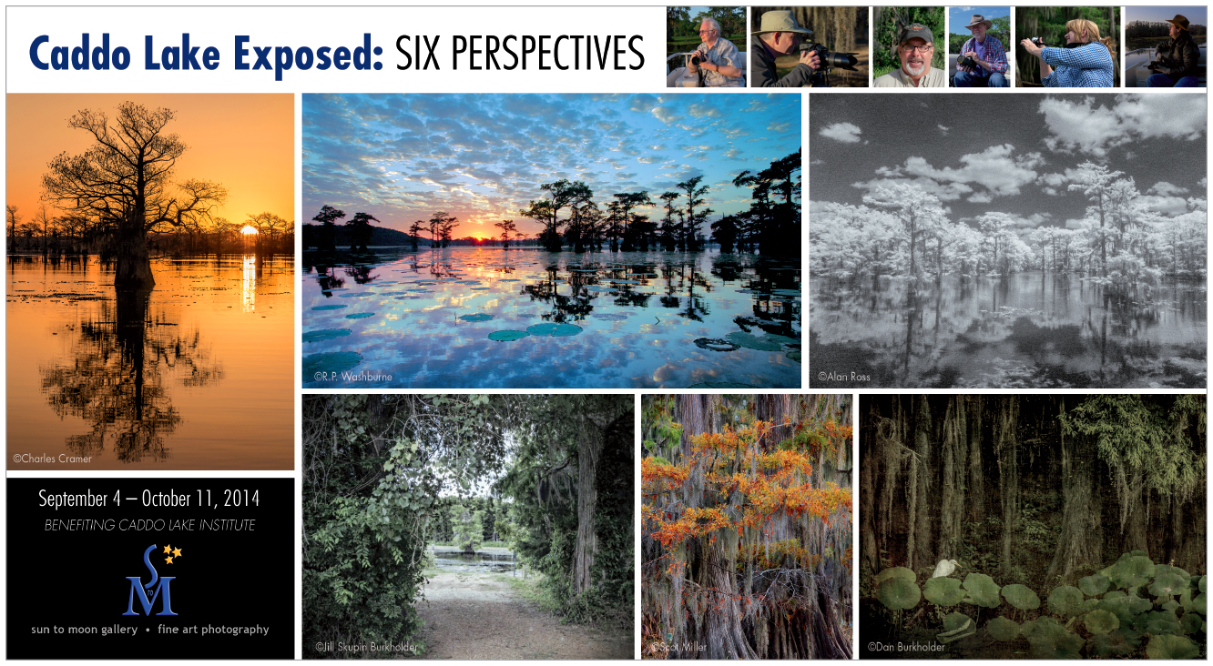 Caddo Lake Exposed: Six Perspectives photography exhibition at Sun to Moon Gallery