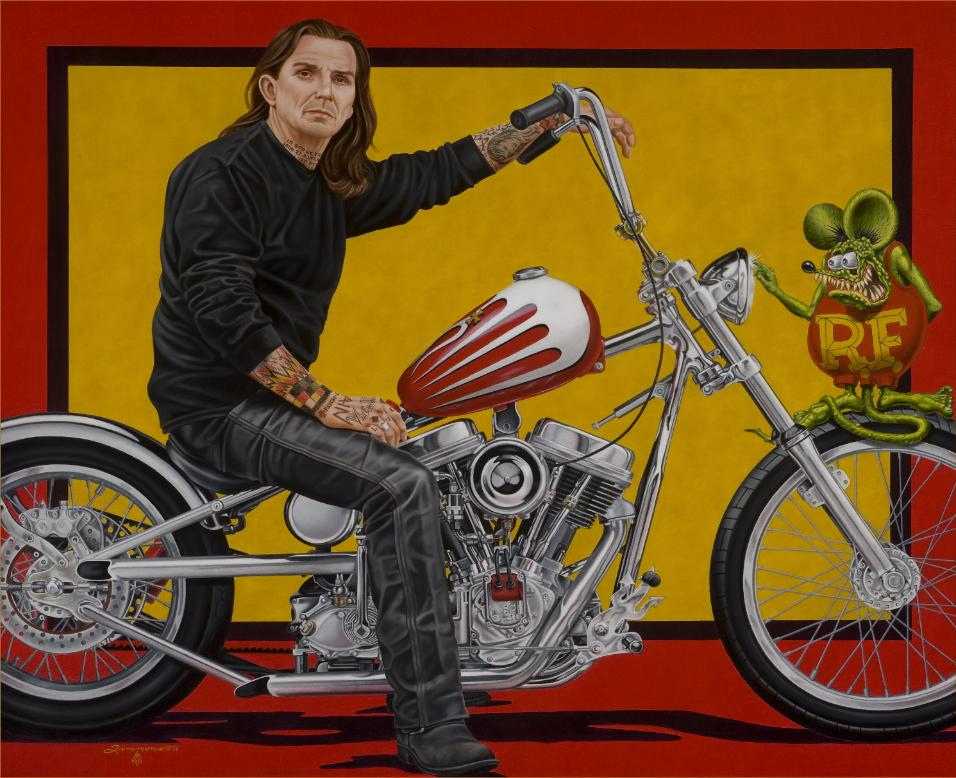Indian Larry by Rick Timmons