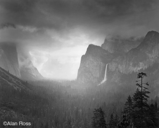 Yosemite Valley photograph by Alan Ross, at Sun to Moon Gallery