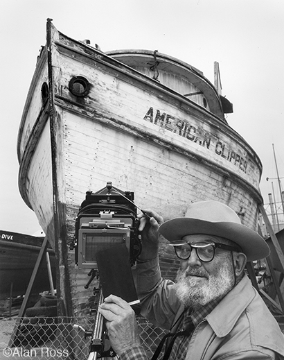 Photograph of Ansel Adams by Alan Ross
