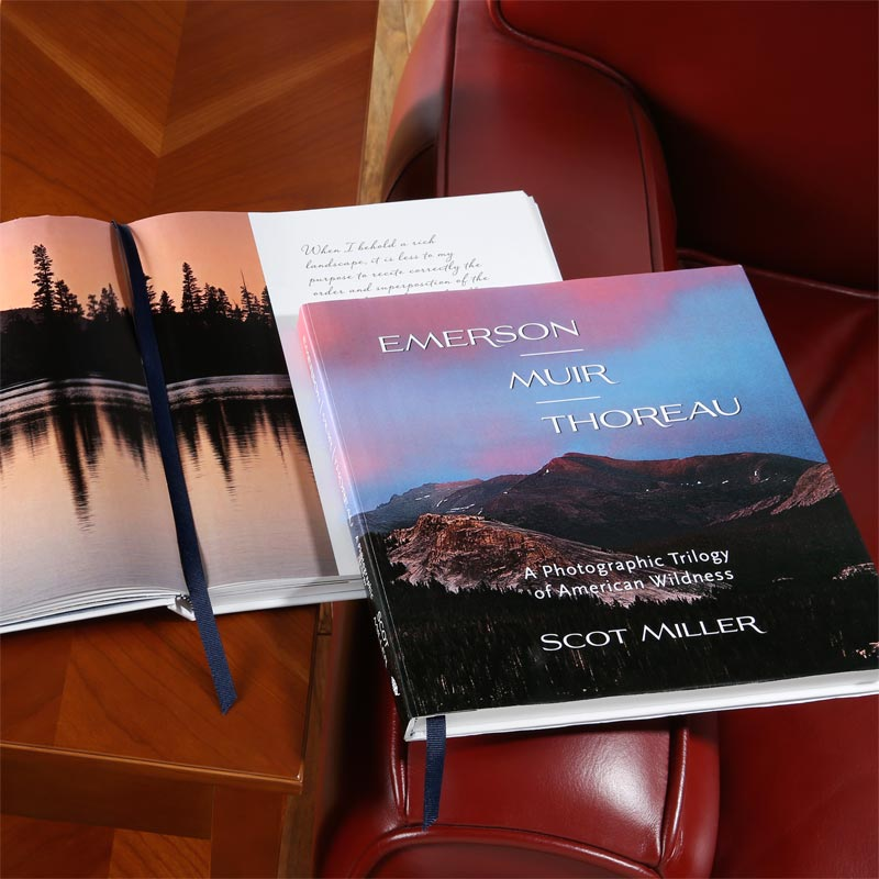 Emerson, Muir, Thoreau, A Photographic Trilogy of American Wildness, by Scot Miller