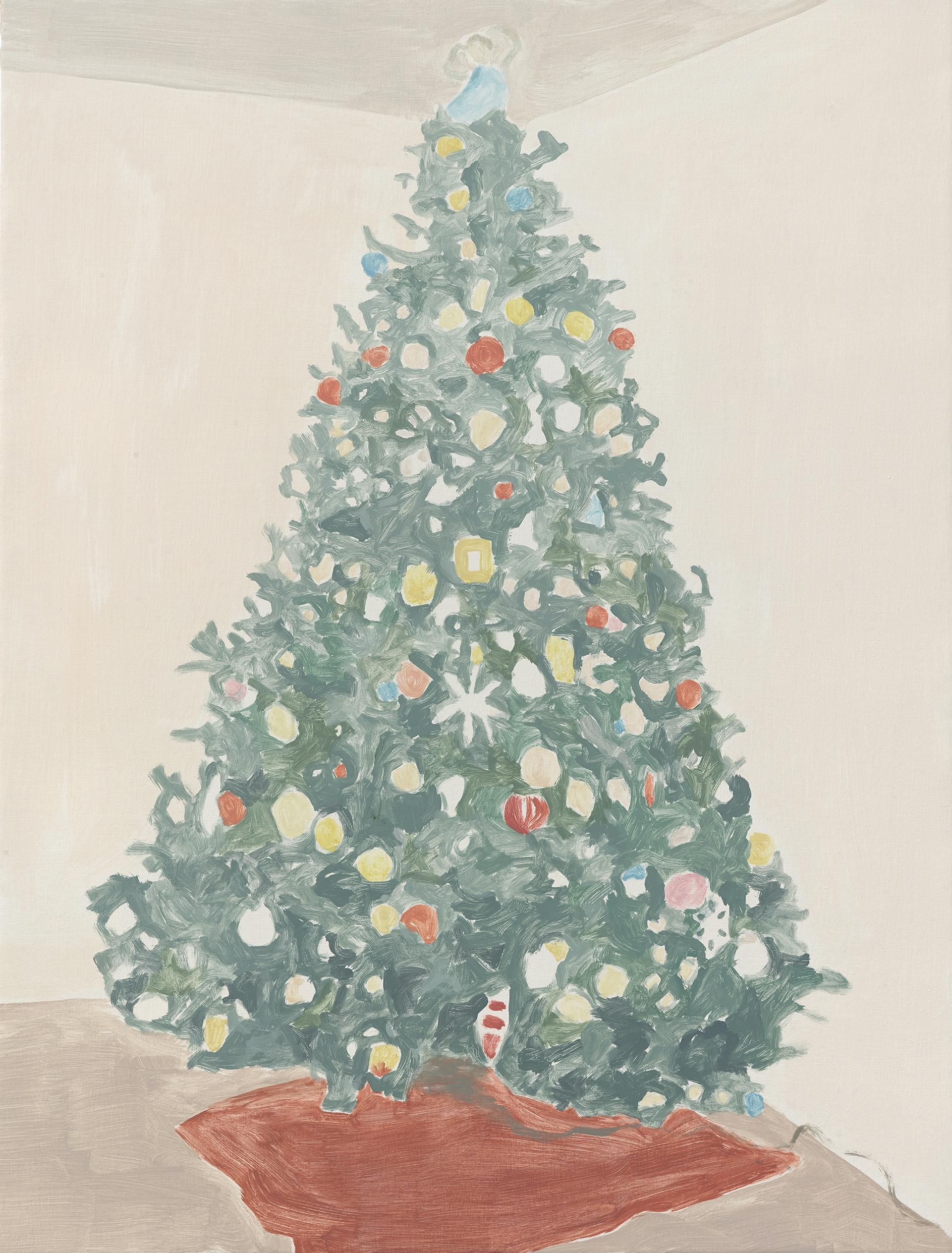 Francesca Fuchs, Xmas Tree 3 (Red Rug), 2014