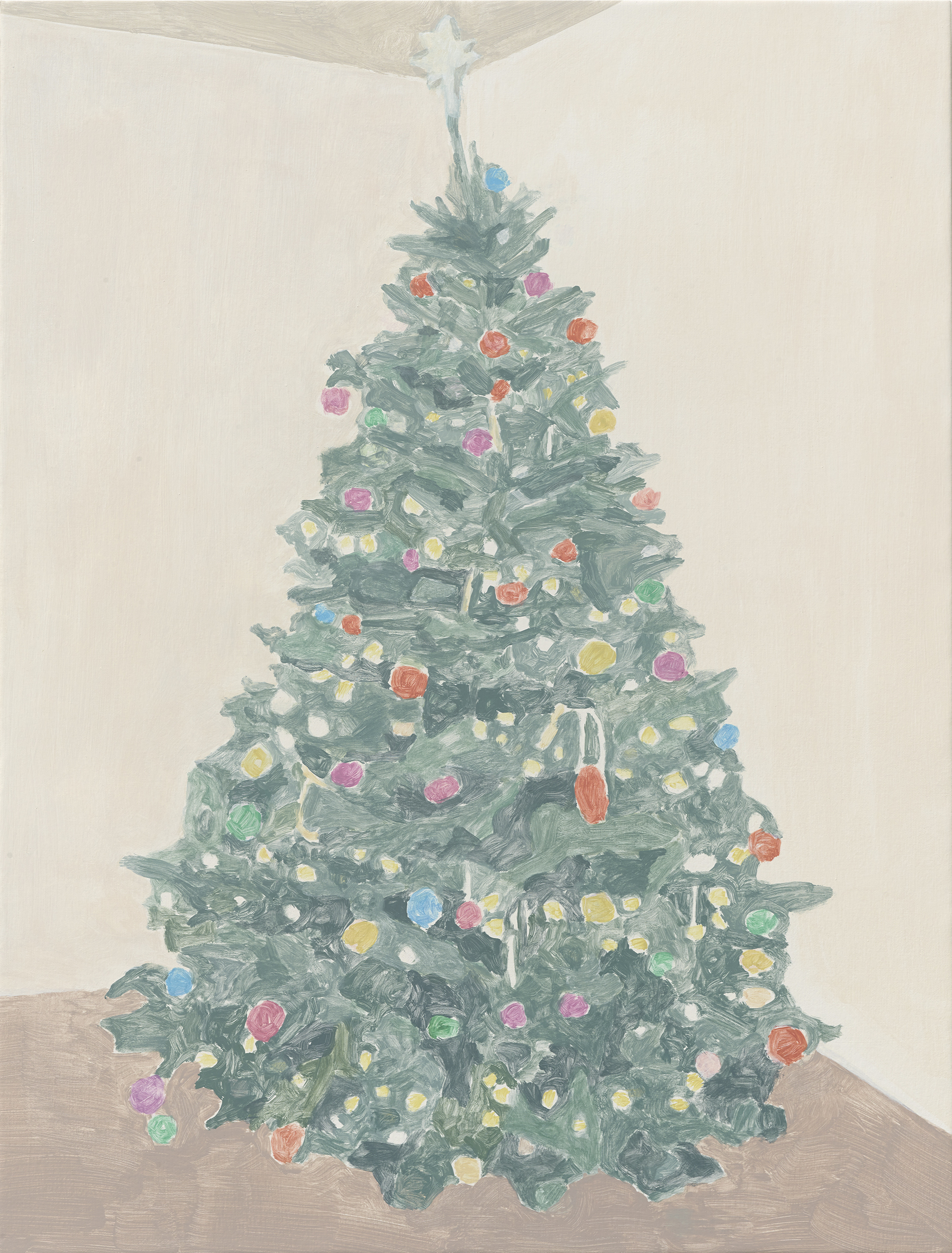 Francesca Fuchs, Xmas Tree (Baubles and Star), 2015
