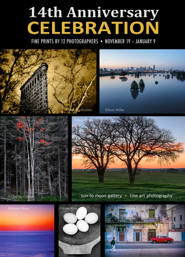 14th Anniversary Celebration:  Finely crafted photographic prints by twelve photographers
