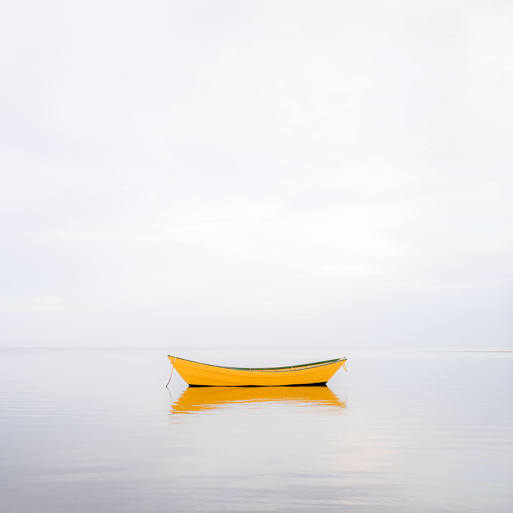 """Yellow Boat 2014""	  Archival Pigment Print	  ©Alison Shaw"