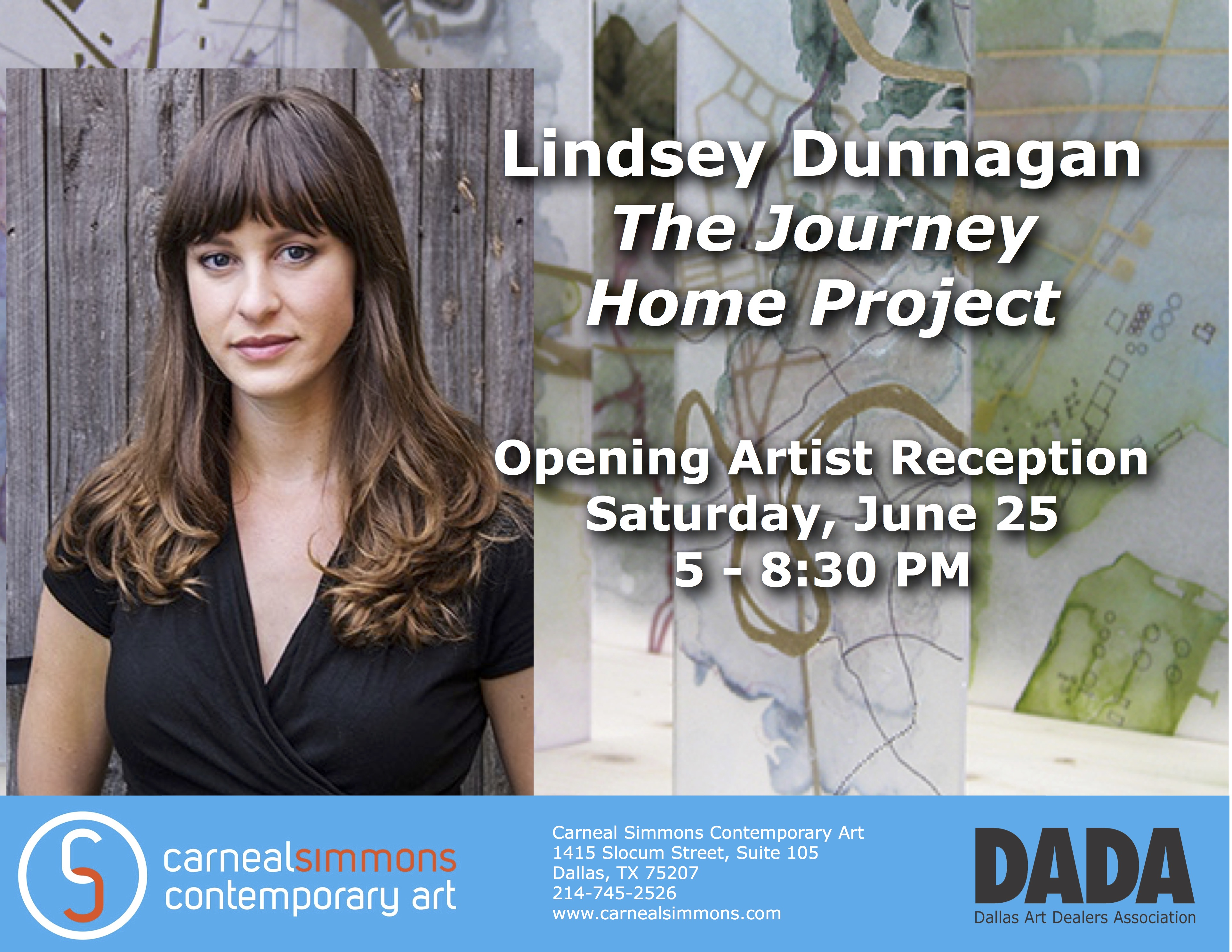 Opening Artist Reception June 25 from 5 - 8:30 PM