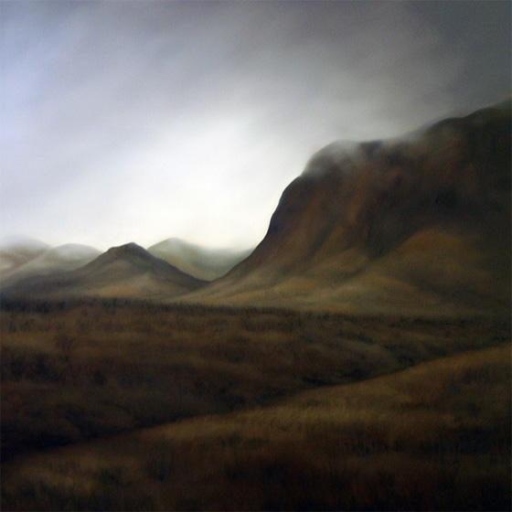 Artist Dawn Waters Baker, Whisper, oil on panel, 36 X 36 in.