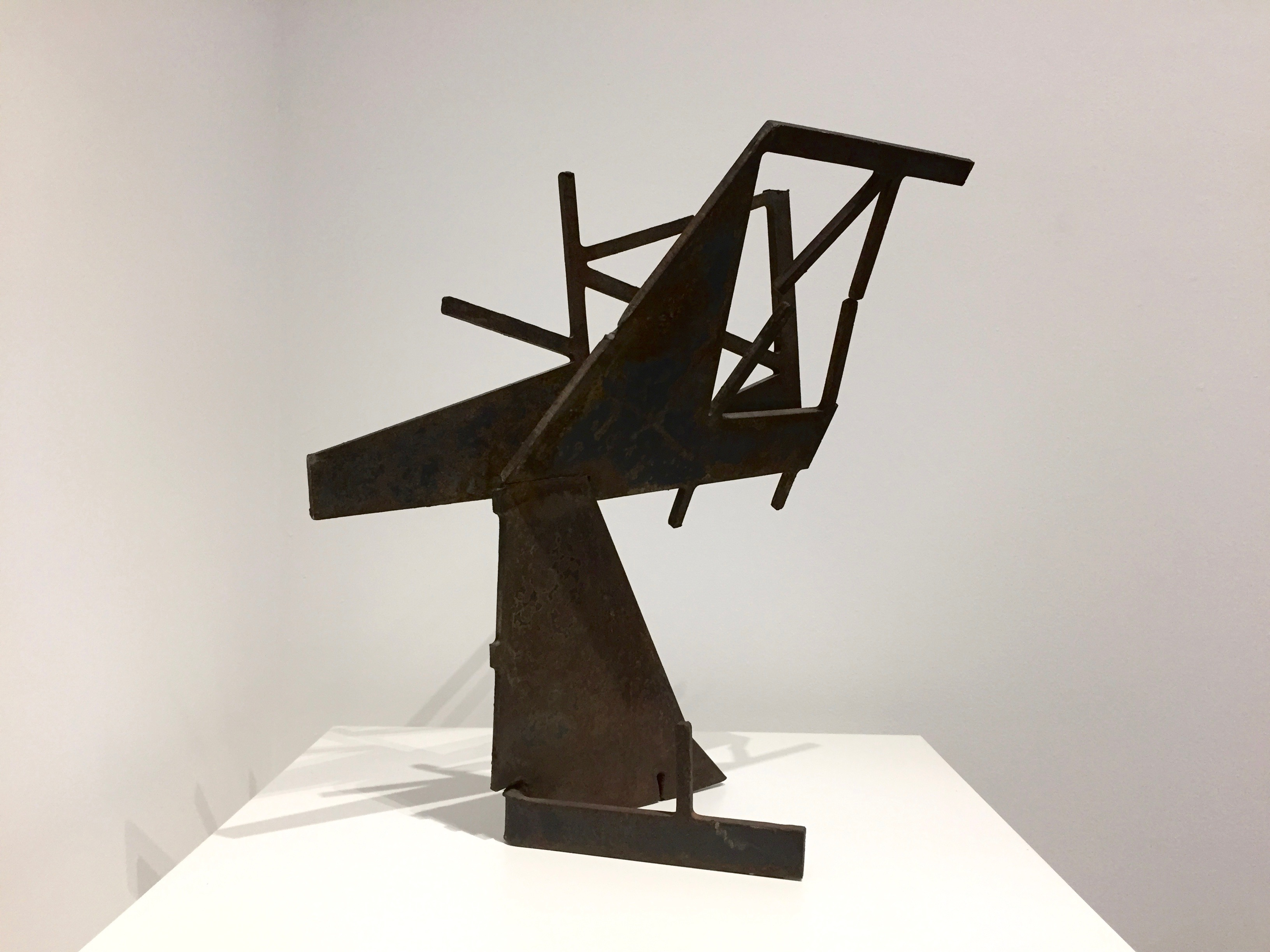Duayne Hatchett's 'Early in Ohio', steel with patina, 22