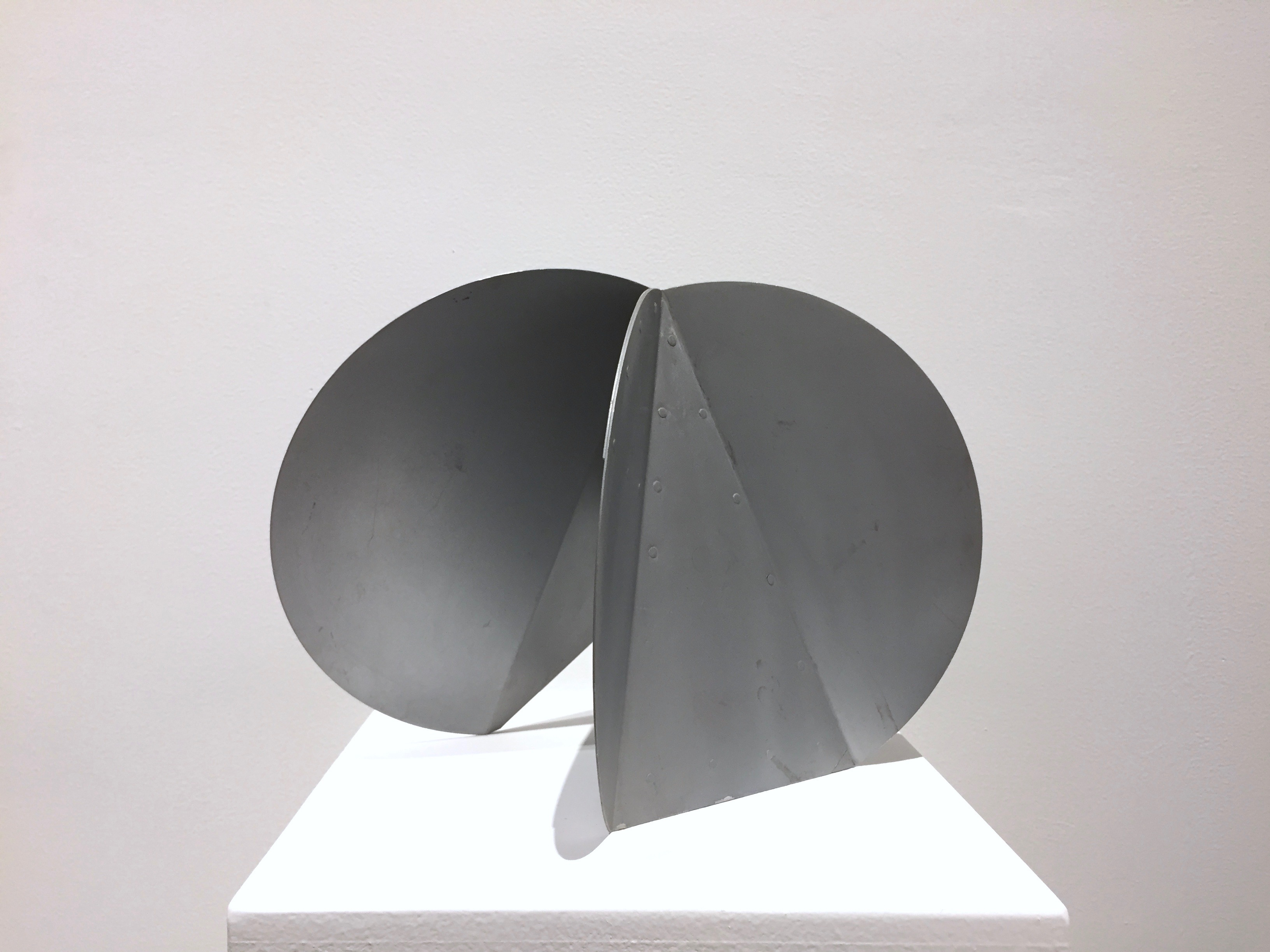 Duayne Hatchett's 'Circular', rolled metal,  11