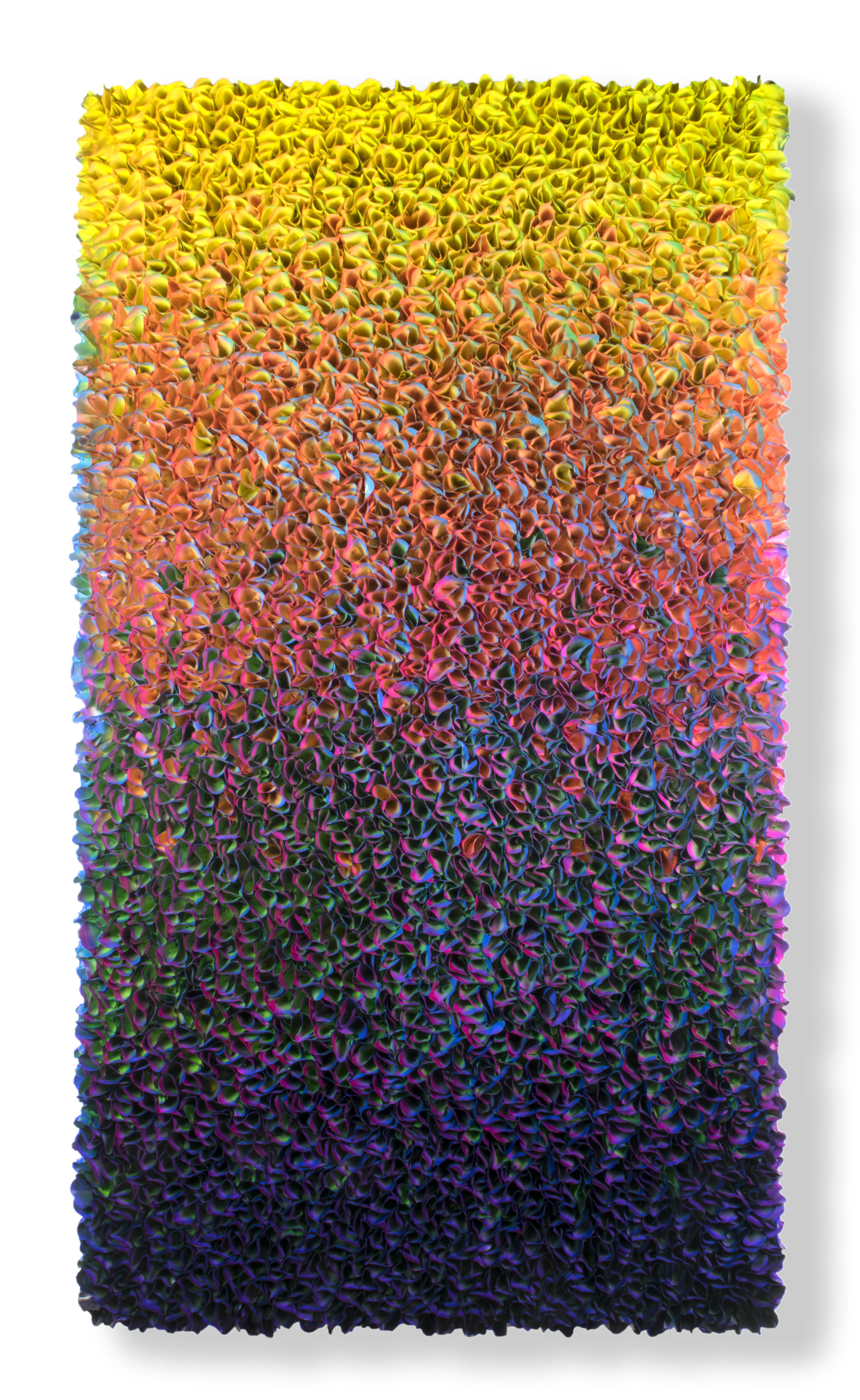 Zhuang Hong Yi, Untitled, 2017, Acrylic on rice paper, 73h x 39w in.