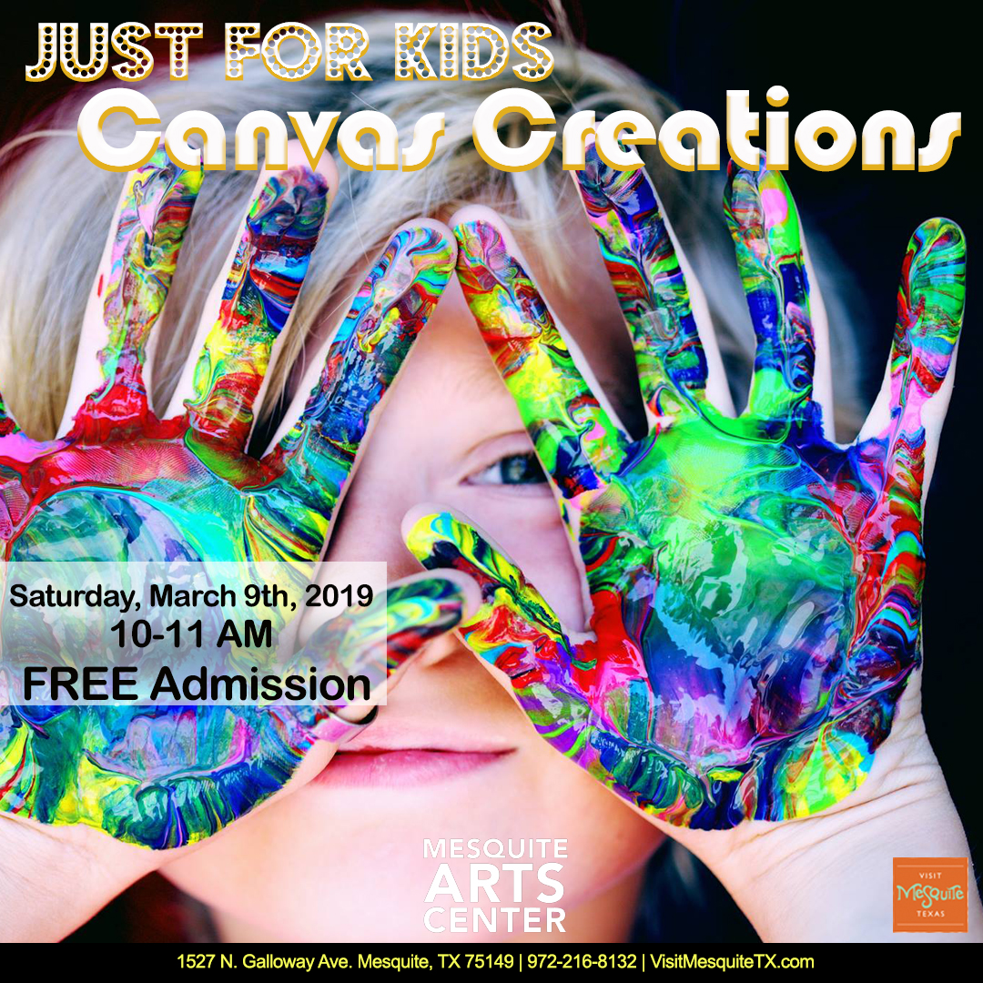 Just For Kids: Canvas Creations