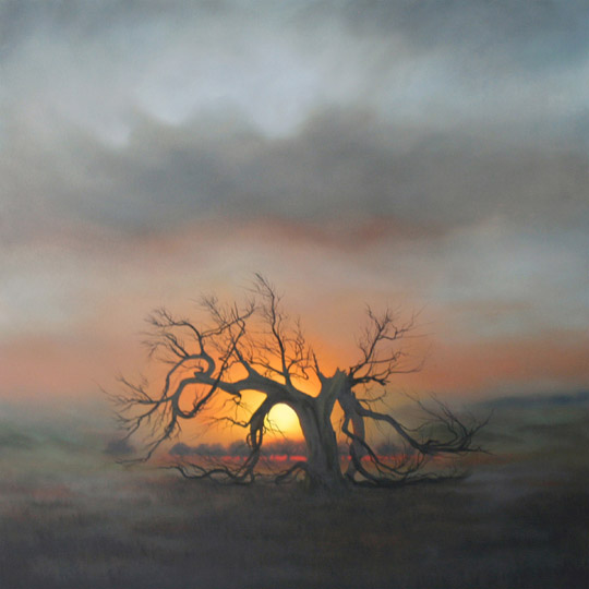 Dawn Waters Baker, Emancipation, oil on canvas, 55x55 in.
