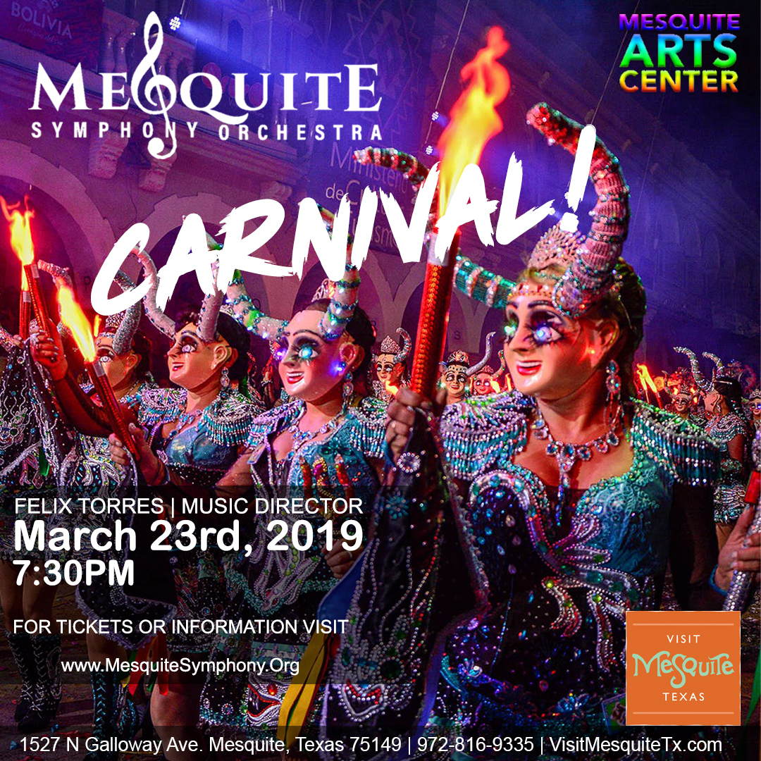 Mesquite Symphony Orchestra: Canival!