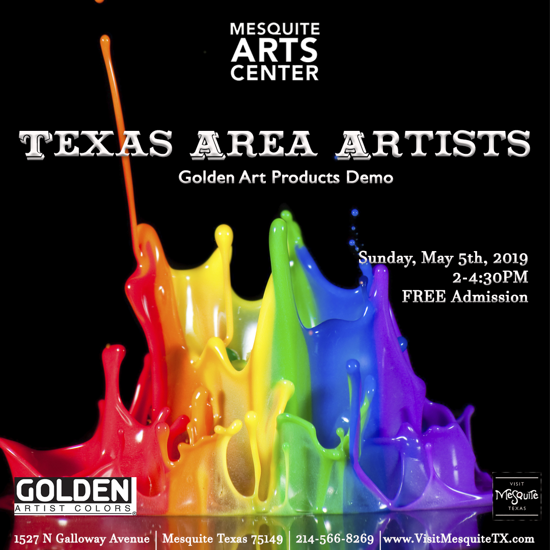Texas Area Artists: Golden Meeting