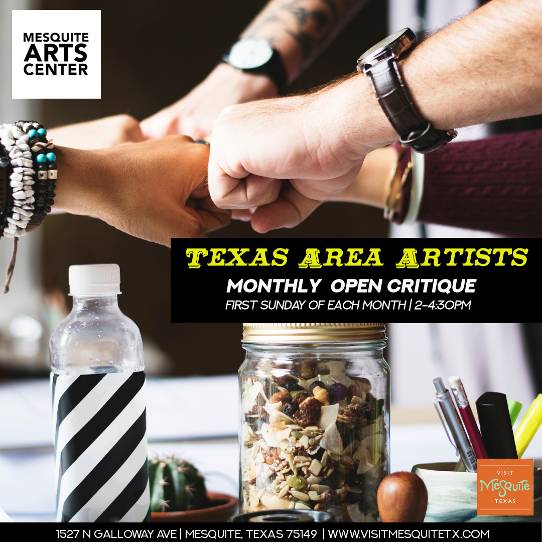 Texas Area Artists Open Critique