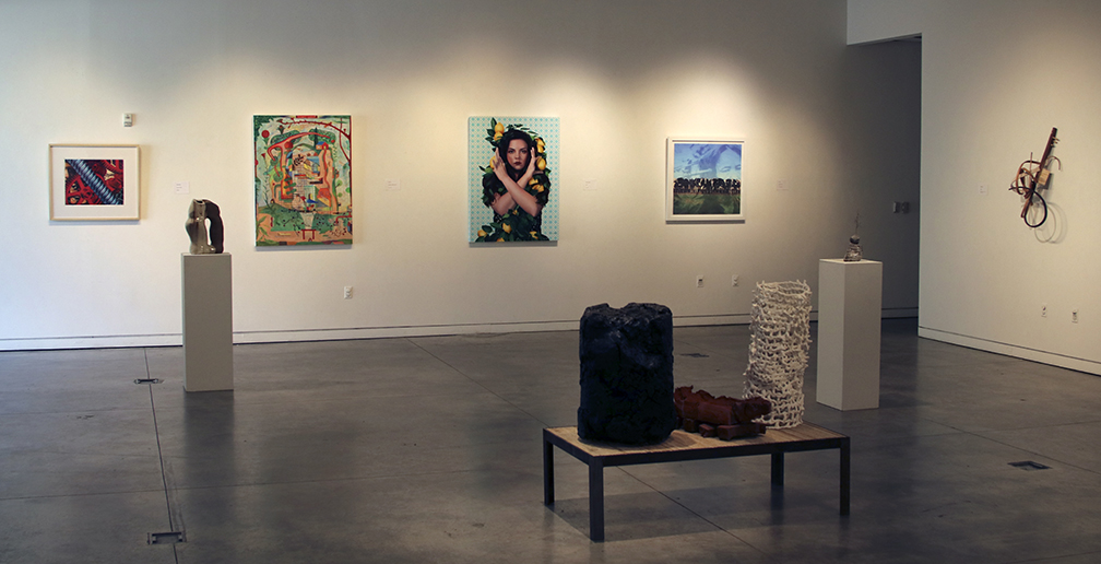 Partial installation view, 2019 Art Faculty Exhibition.